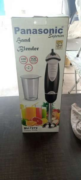Hand blender model 7272 warranty 2 years