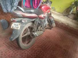 My mother hospital admid so .i will my bike sell