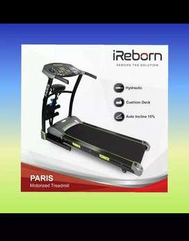 alat fitness treadmill elektrik paris auto incline