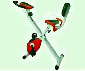 peralatan olahraga/Alat fitness at home/Bike with sandaran