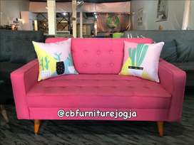 Sofa flamingo dua seateer, PRomo Murah