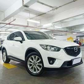 Mazda Cx5 GT 2.0 2013 Putih Good Condition