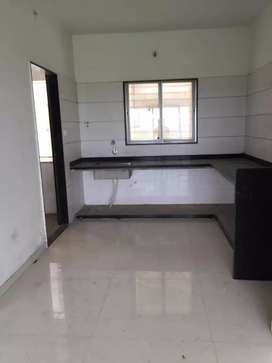3bhk flat for rent in Althan with kitchen trolley
