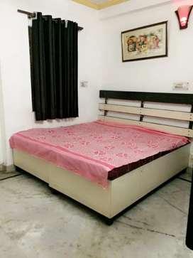 Semi-furnished one room set with kitchen, washroom