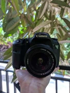 Camera Canon 7D Fullset + Memory