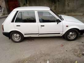 Car sale krni hy white color,new tyres and bettary,poshesh, good condi