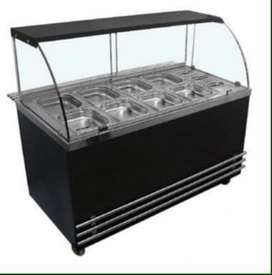 Salad bar and Bain Marie at factory price NEW