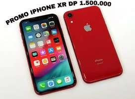 Promo cicilan IPHONE XR 128 GB DP hanya 1.500.000