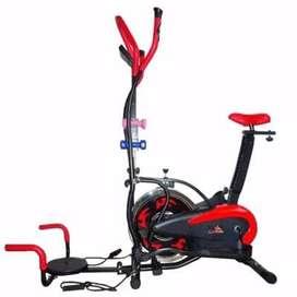 Alat Fitnes Sepeda Statis Orbitrek 5 in 1 New Model Hanatha