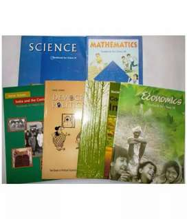 Class 9 books.  New condition