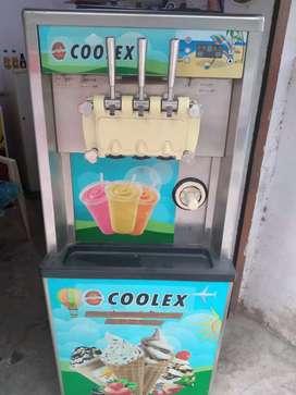 SOFTY ICE CREAM MACHINE ( DOUBLE COMPRESSOR)
