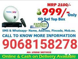 Airtel DTH Tata sky Videocon Dish TV connection