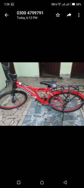 Bicycle in gud condition