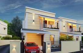 3BHK Budget Villas In Palakkad Town
