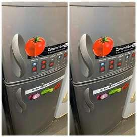 Wow ! Good double door fridge the best 5 yrs warranty