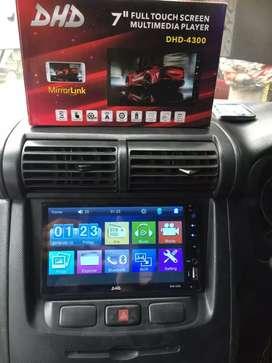 Paket TV Mobil 7inch Mirrorlink+Kamera Mundur FREE Masang
