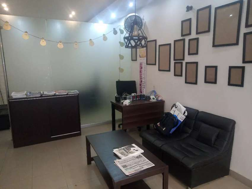 Sharing Office space in gulberg 3.  furnished . Liberty round about. 0