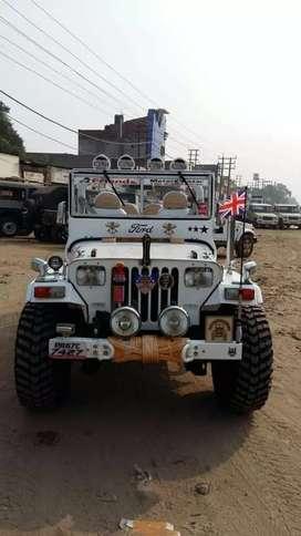 Open modified hunter jeeps