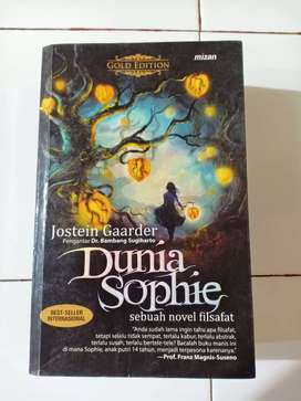 DUNIA SOPHIE - NOVEL FILSAFAT (Gold edition)