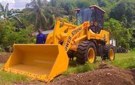 Wheel Loader Sonking Engine Turbo Hemat Selalu Prima di Maluku