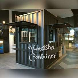 CONTAINER BOOTH CUSTOM / CONTAINER COFFEE SHOP / CONTAINER USAHA