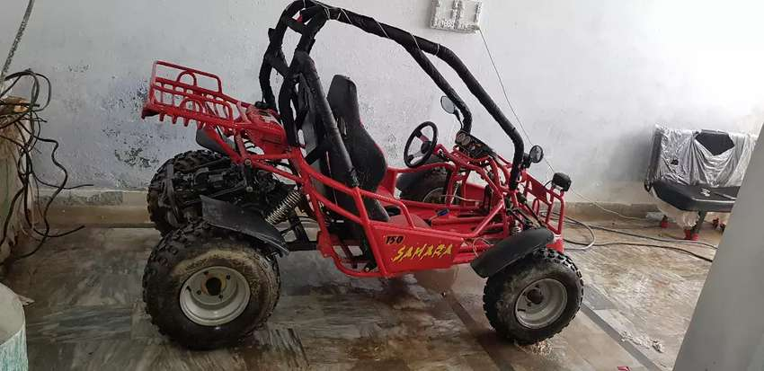 Sahara 150 off road 2 seater car available for sale 0