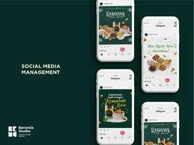 Jasa Desain Instagram, Facebook, Social Media Marketing, SMM, Iklan