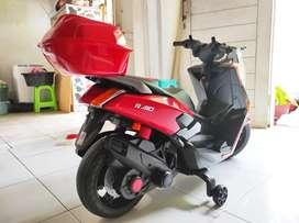 [COD] Motor Mainan Aki NMAX / Motor Mainan Bisa Dikendarai Anak