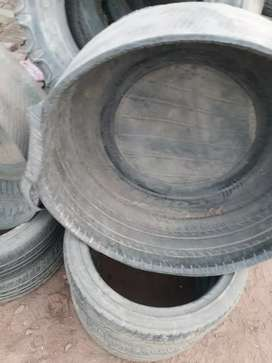 tyre tup difrent size 1200:+550+350 size 6.50.16 and 15 and 12