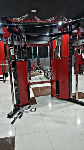 GYM MACHINE AVAILABLE/ALL GYM MACHINE AND EQUIPMENT AVAILABLE