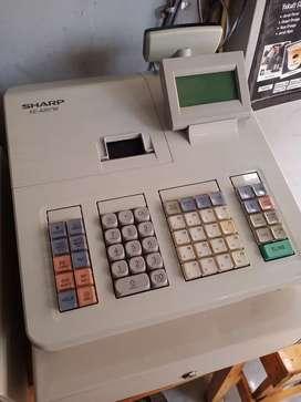 Mesin kasir / cash register sharp 207 mulus