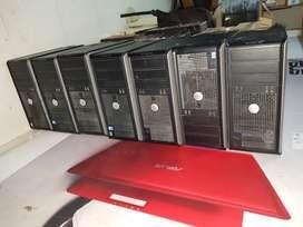 Dell/Hp/Lenovo Refurnished Laptop Desktop All in One Avilable