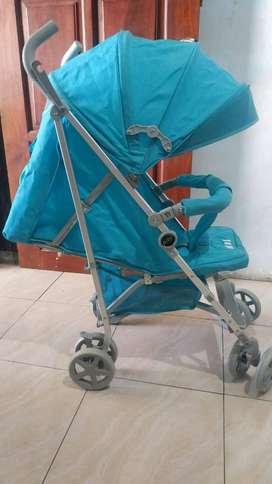 Stroller Pliko bekas seperti baru