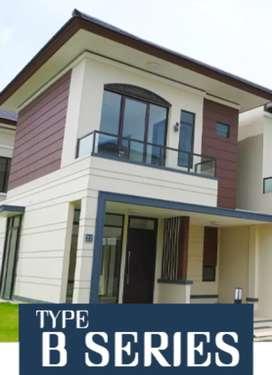 Rumah minimalis harga terjangkau 2lt & 4km tdr