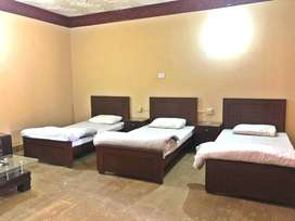 Fully Furnished Air-Conditioned rooms for daily and monthly basis