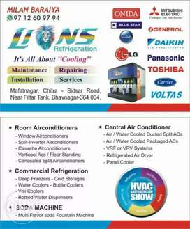 Ac repairing,installation and service