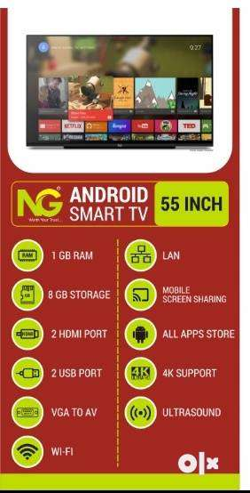 SMART TV 55INCH OFFER ON RS 28499/- ONLY 0