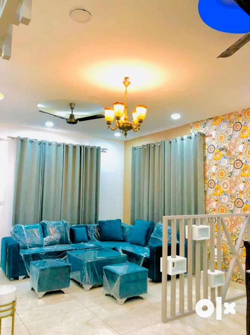 2BHK FLAT FULLY FURNISHED FOR SALE AT MAIN LANDRAN HIGHWAY IN SEC-115