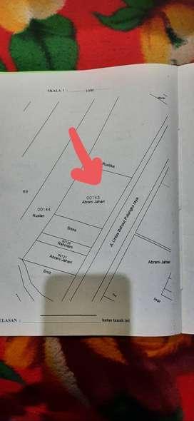 Jual tanah dengan luas 3.372 m²,