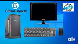 Intel Core2duo full system with 1 year warranty