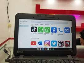Lenovo n22 4gb ram chromebook with android app supported 8 hrs batter