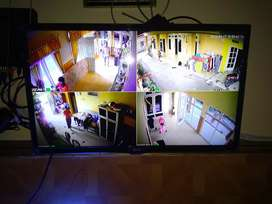Obral Cctv Promo banting harga paket 4 camera 2mp bosku!!
