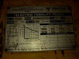 Battery operated Forklift 3 ton