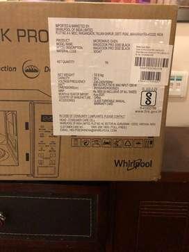 Whirlpool brand new microwave