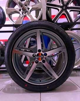 Velg Mobil + Ban 235/50 R18 untuk crv, rush, terios dll