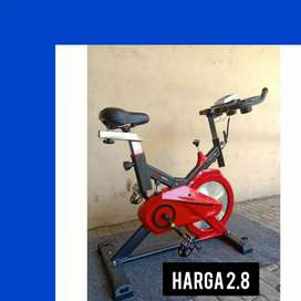 sepeda statia spin spinning bike magnet D-65/ alat fitnes treamdill