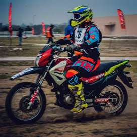 Motocross&Supercross ready to race motorcycle