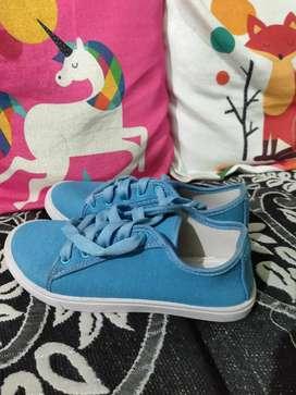 Women's Sneaker (Blue)