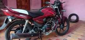 Honda cb shine colore merun