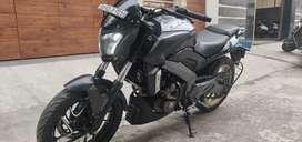 Bajaj Dominar 400 Abs single handed bike at immediate sale.